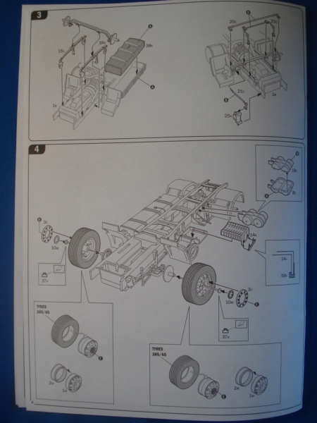 [ITALERI] DAF XF-105 Smoky Jr. 1/24ème Réf 3917 (SHOW trucks ) Notice Dsc08614