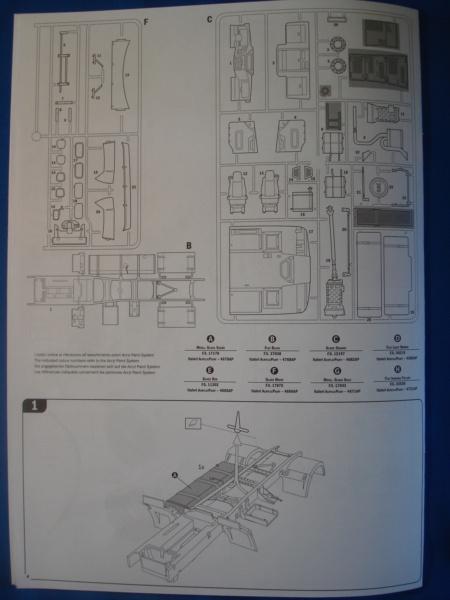 [ITALERI] DAF XF-105 Smoky Jr. 1/24ème Réf 3917 (SHOW trucks ) Notice Dsc08615