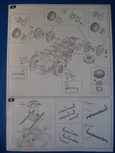 [ITALERI] DAF XF-105 Smoky Jr. 1/24ème Réf 3917 (SHOW trucks ) Notice Dsc08616