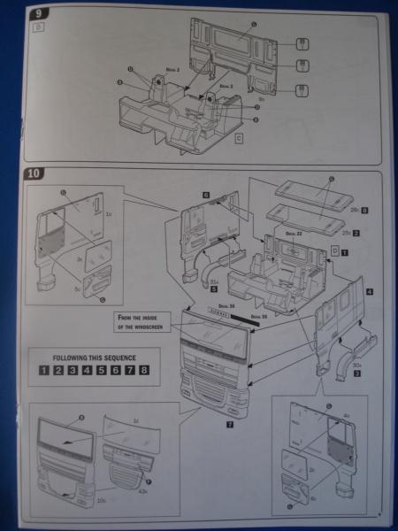 [ITALERI] DAF XF-105 Smoky Jr. 1/24ème Réf 3917 (SHOW trucks ) Notice Dsc08617