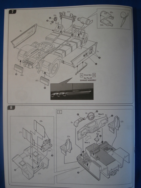 [ITALERI] DAF XF-105 Smoky Jr. 1/24ème Réf 3917 (SHOW trucks ) Notice Dsc08618