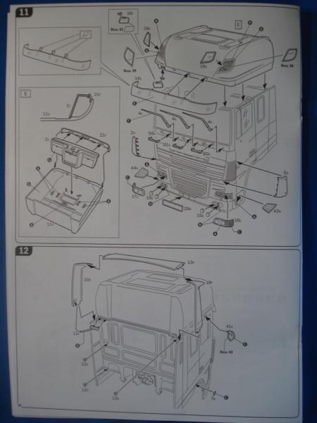 [ITALERI] DAF XF-105 Smoky Jr. 1/24ème Réf 3917 (SHOW trucks ) Notice Dsc08619