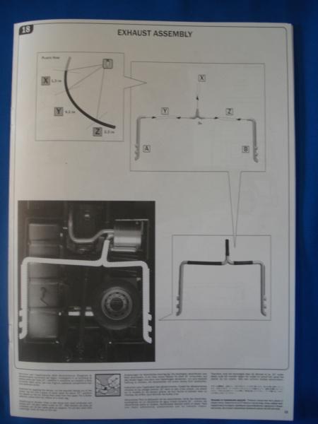[ITALERI] DAF XF-105 Smoky Jr. 1/24ème Réf 3917 (SHOW trucks ) Notice Dsc08622