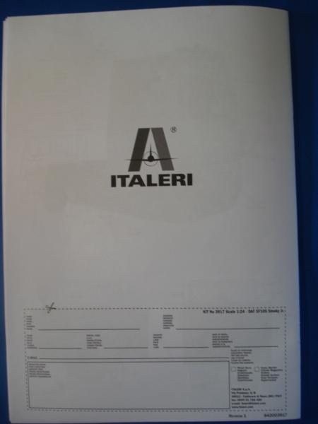 [ITALERI] DAF XF-105 Smoky Jr. 1/24ème Réf 3917 (SHOW trucks ) Notice Dsc08625