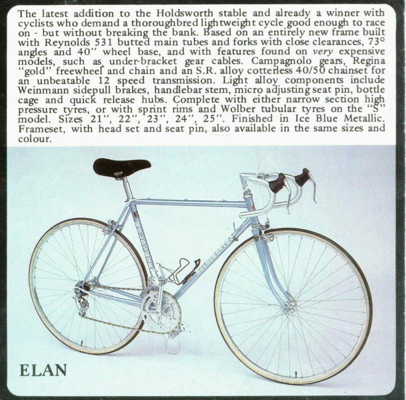 Holdsworth Elan 1981 Elan8110