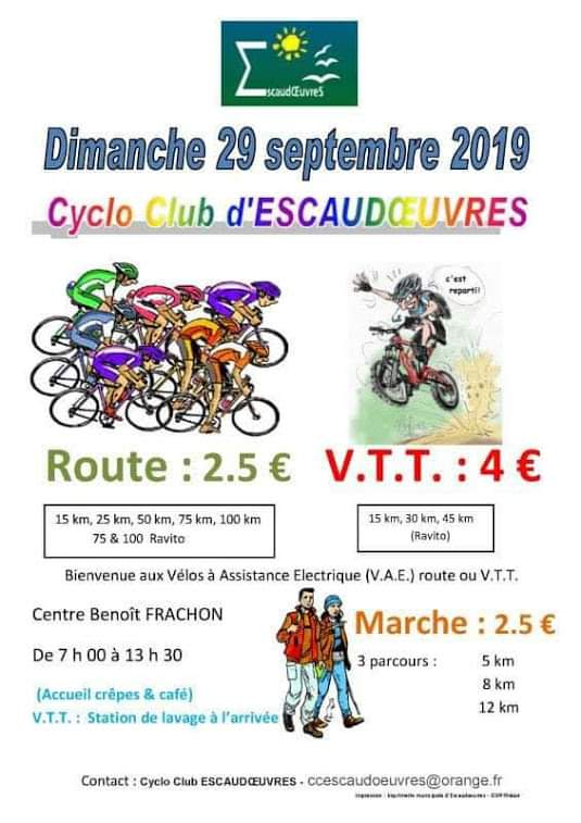 29/09/2019 cyclo club d'escaudoeuvres Fb_img41