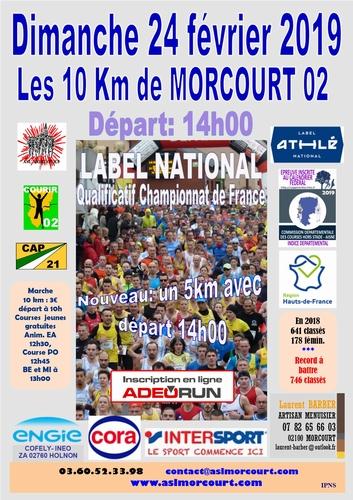 LES 10 KM DE MORCOURT DIMANCHE 24 FÉVRIER 2019 Grand_10