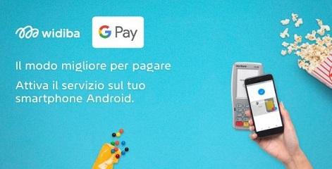 WIDIBA: è arrivato Google Pay! Widiba10