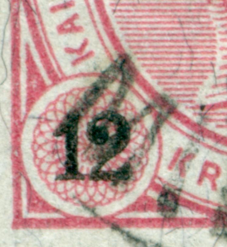 Die Freimarkenausgabe 1890 12_kr_10