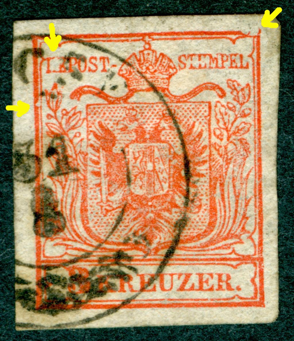 Die erste Österreichische Ausgabe 1850 - Seite 25 1850_315