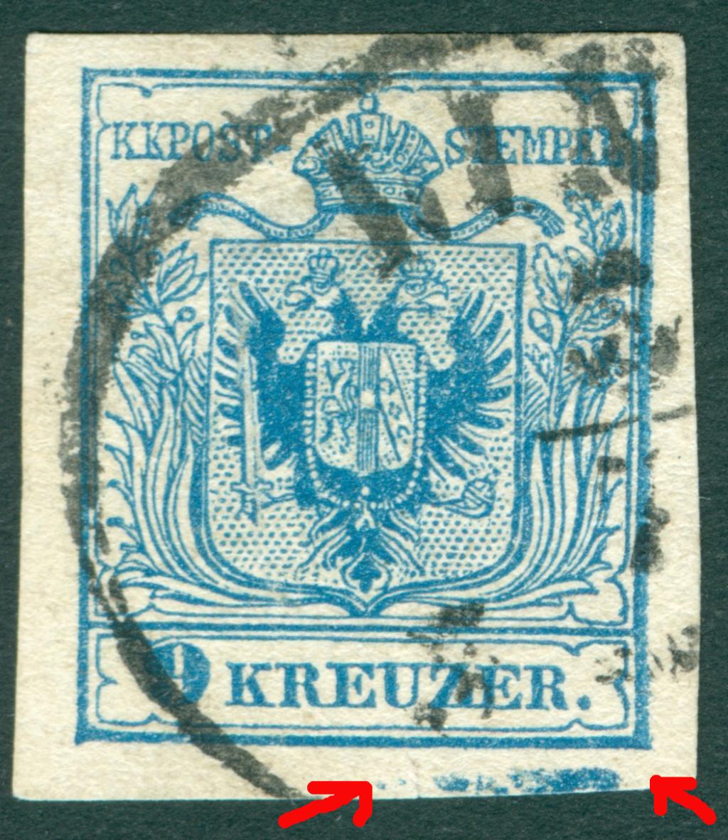 Die erste Österreichische Ausgabe 1850 - Seite 25 1850_911