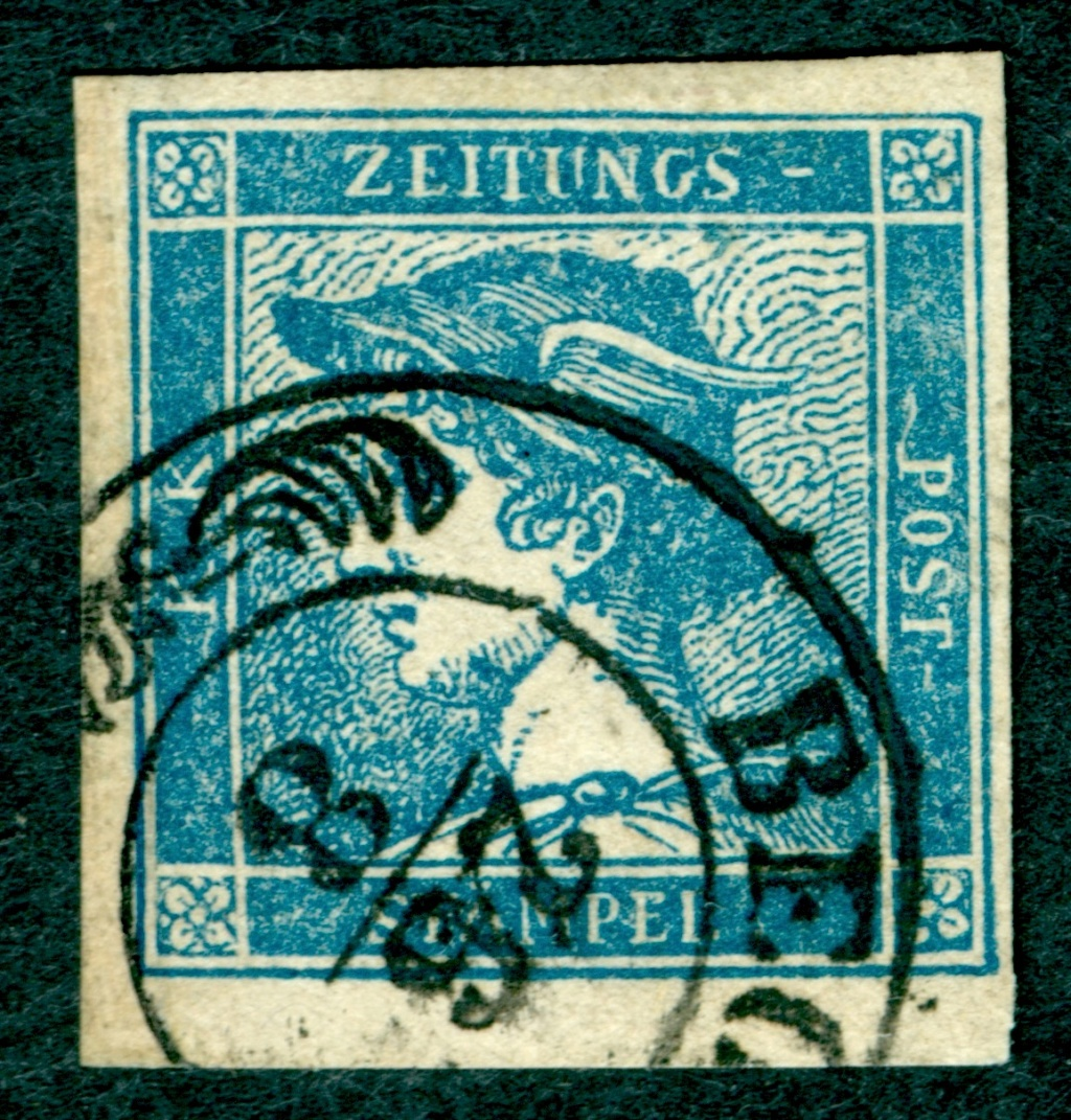 DIE ZEITUNGSMARKEN AUSGABE 1851 - Seite 2 1851_z10