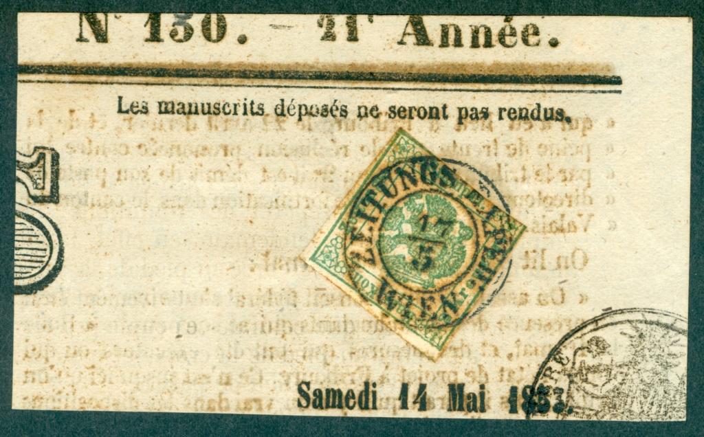 Zeitungsstempelmarken 1853_z10