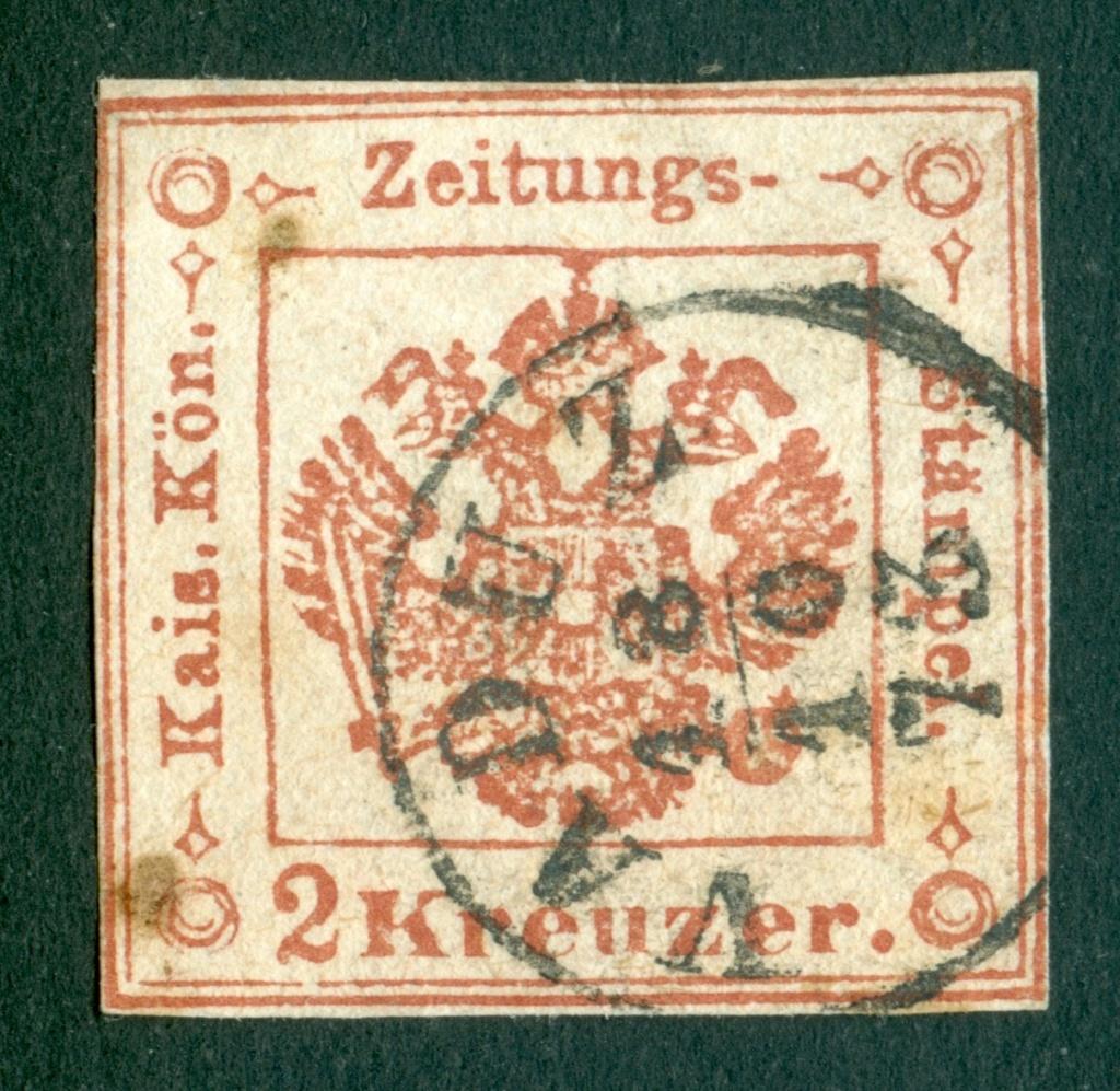 Stempel Vaduz auf Österreichische Zeitungsstempelmarke? 1858_l10