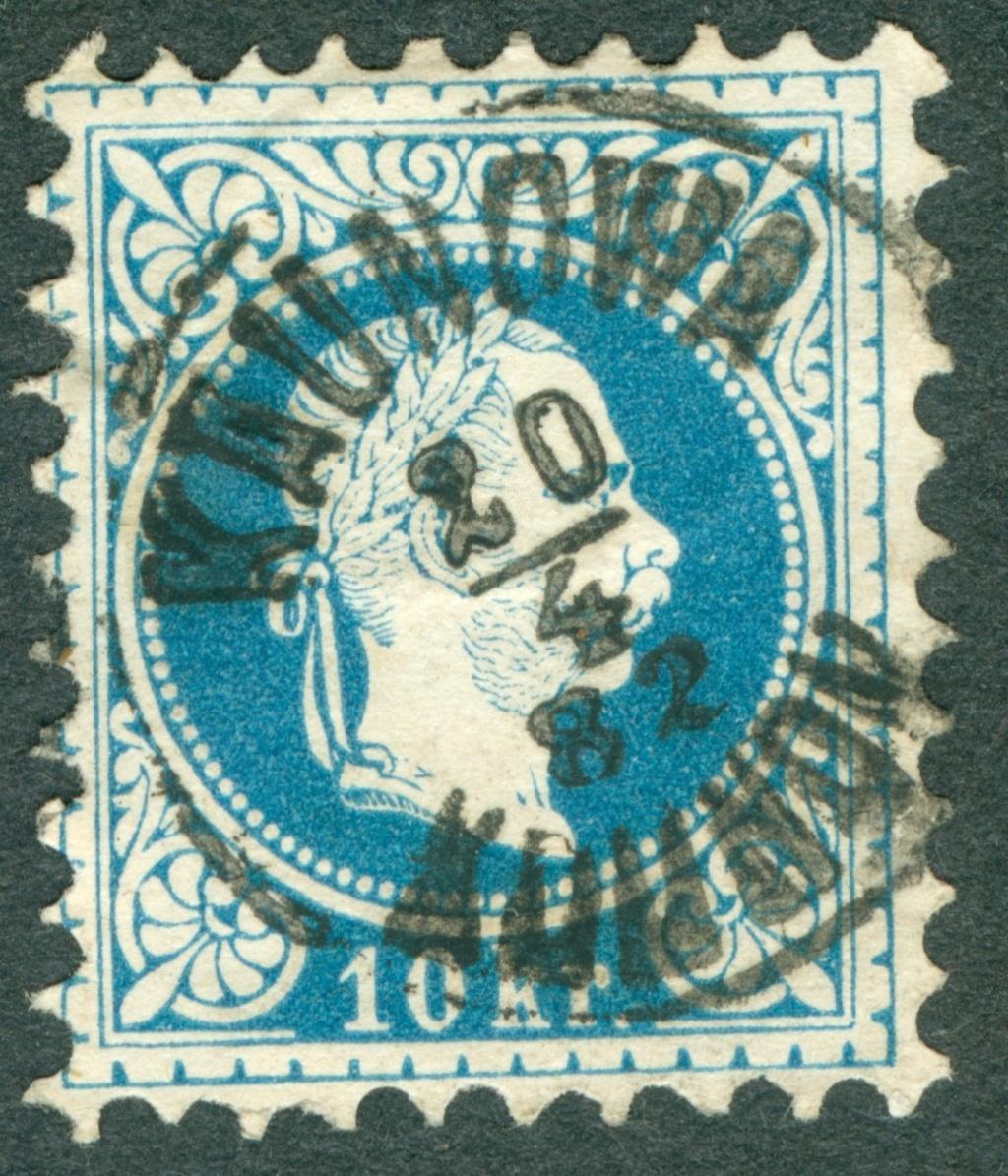 Freimarken-Ausgabe 1867 : Kopfbildnis Kaiser Franz Joseph I - Seite 20 18671010