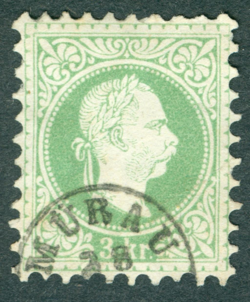 Freimarken-Ausgabe 1867 : Kopfbildnis Kaiser Franz Joseph I - Seite 20 1867_310