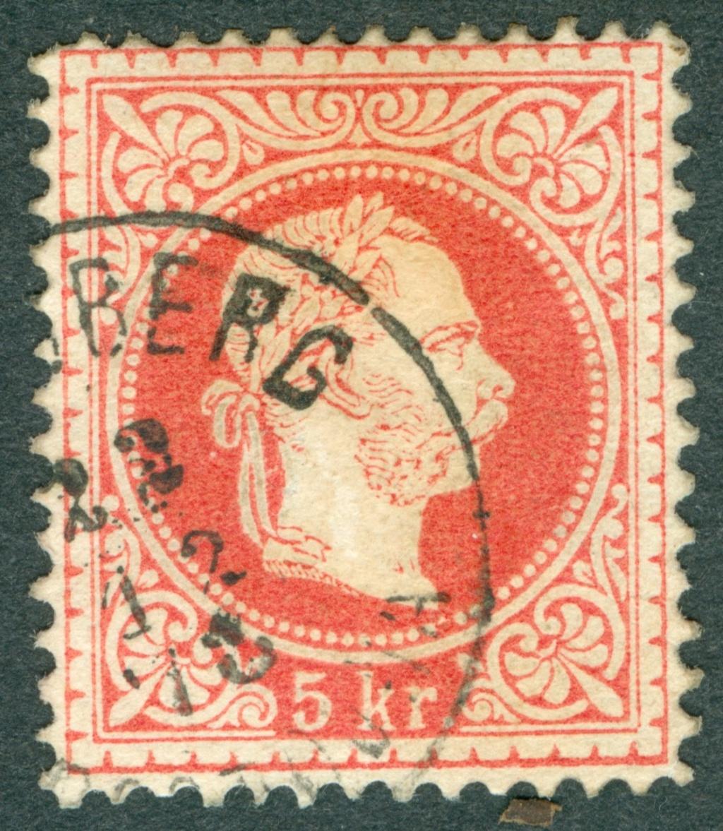 Freimarken-Ausgabe 1867 : Kopfbildnis Kaiser Franz Joseph I - Seite 20 1867_510