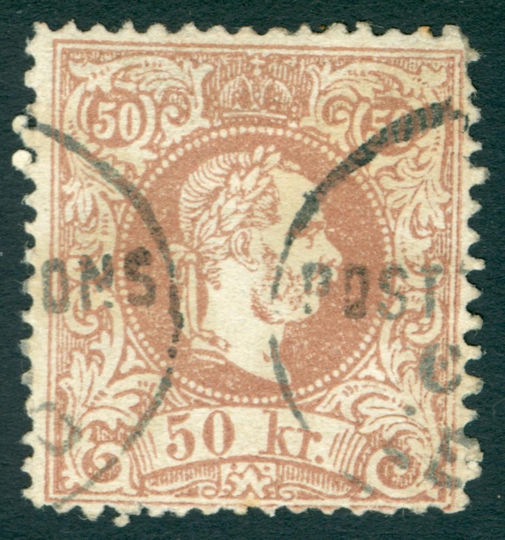 Freimarken-Ausgabe 1867 : Kopfbildnis Kaiser Franz Joseph I - Seite 20 1867_512
