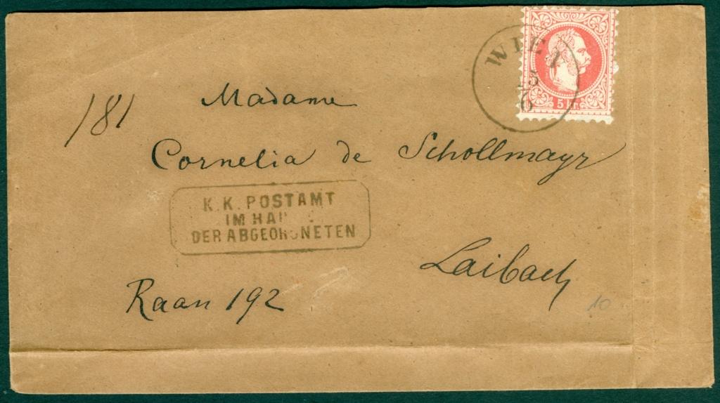 Nachtrag - Freimarken-Ausgabe 1867 : Kopfbildnis Kaiser Franz Joseph I - Seite 21 1867_513