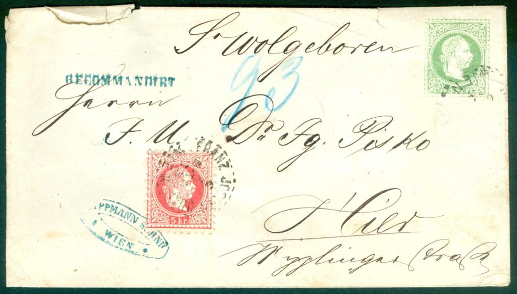Freimarken-Ausgabe 1867 : Kopfbildnis Kaiser Franz Joseph I - Seite 20 1867_u10