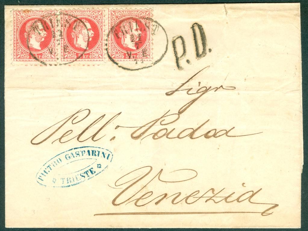 Freimarken-Ausgabe 1867 : Kopfbildnis Kaiser Franz Joseph I - Seite 21 1871_t12
