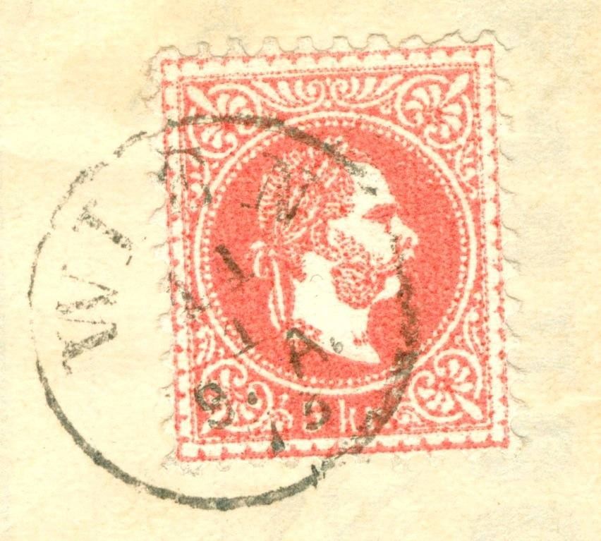 Freimarken-Ausgabe 1867 : Kopfbildnis Kaiser Franz Joseph I - Seite 21 1873_510