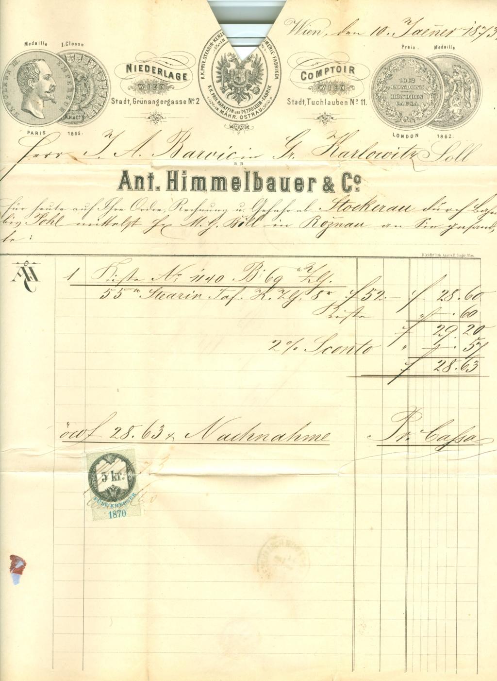 Nachtrag - Freimarken-Ausgabe 1867 : Kopfbildnis Kaiser Franz Joseph I - Seite 21 1873_513