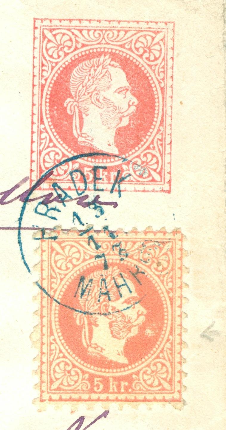 Nachtrag - Freimarken-Ausgabe 1867 : Kopfbildnis Kaiser Franz Joseph I - Seite 22 1873_g10