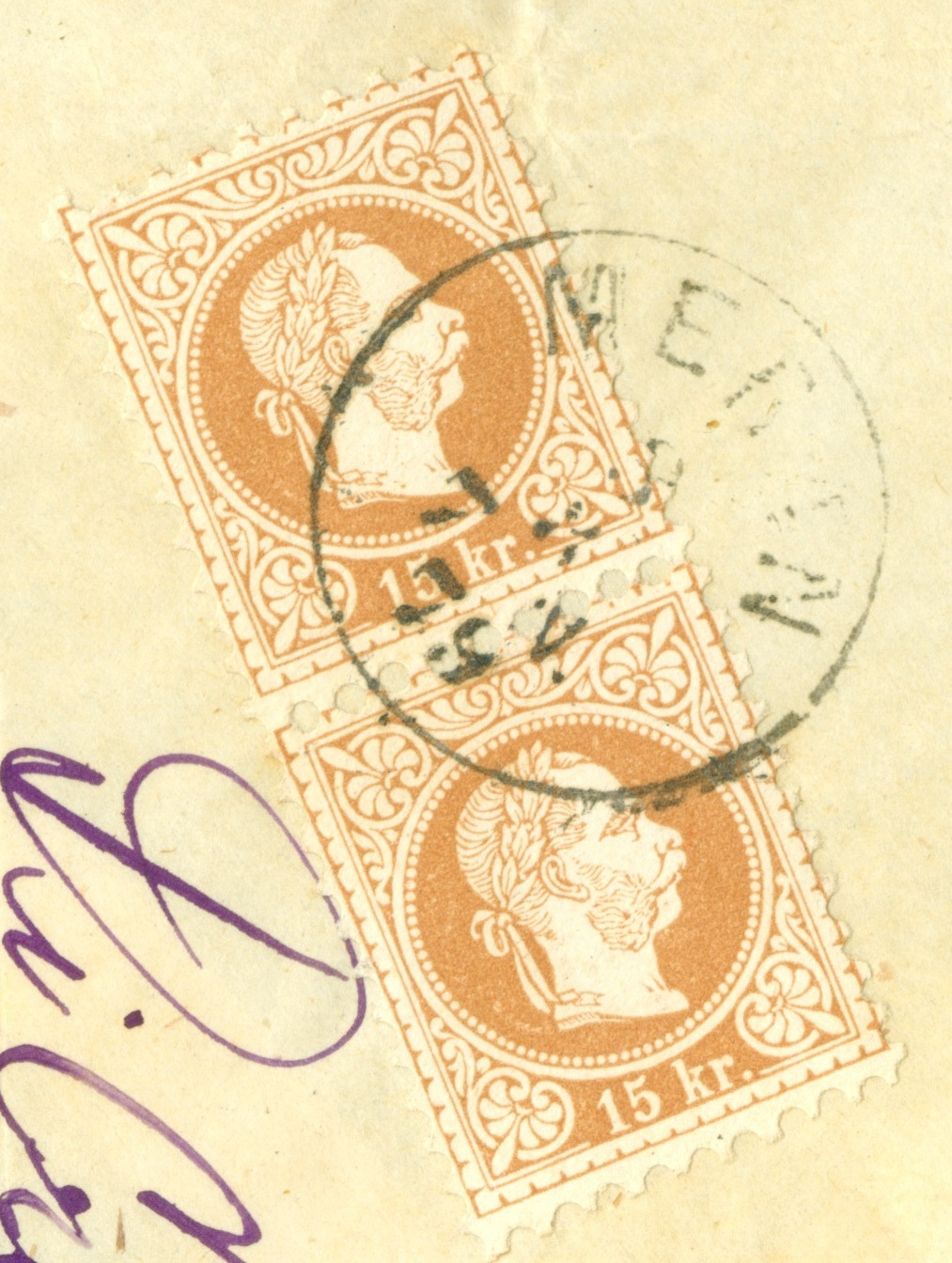 Freimarken-Ausgabe 1867 : Kopfbildnis Kaiser Franz Joseph I - Seite 21 1879_b10