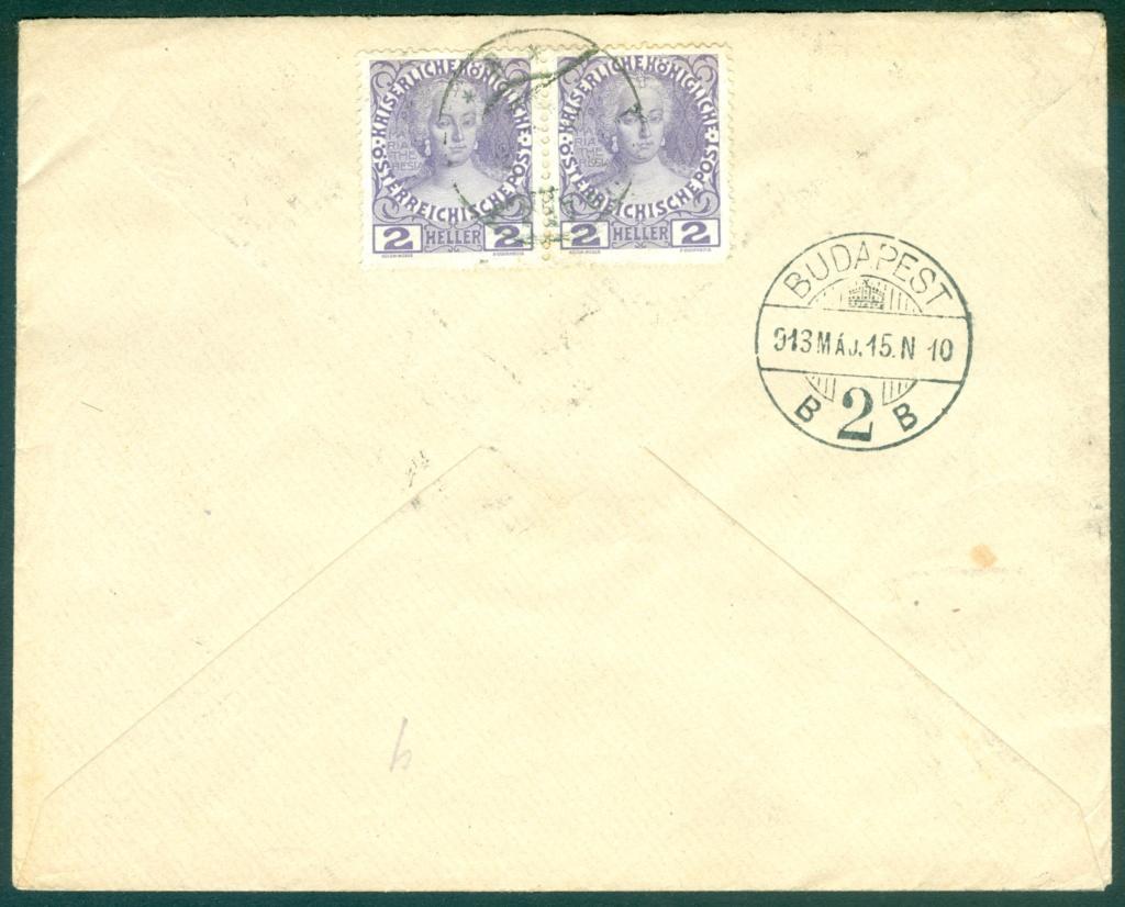 Die Freimarkenausgabe 1908 - Seite 2 1913_b10