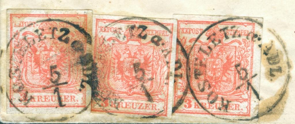 Die erste Österreichische Ausgabe 1850 - Seite 25 3x3_kr10