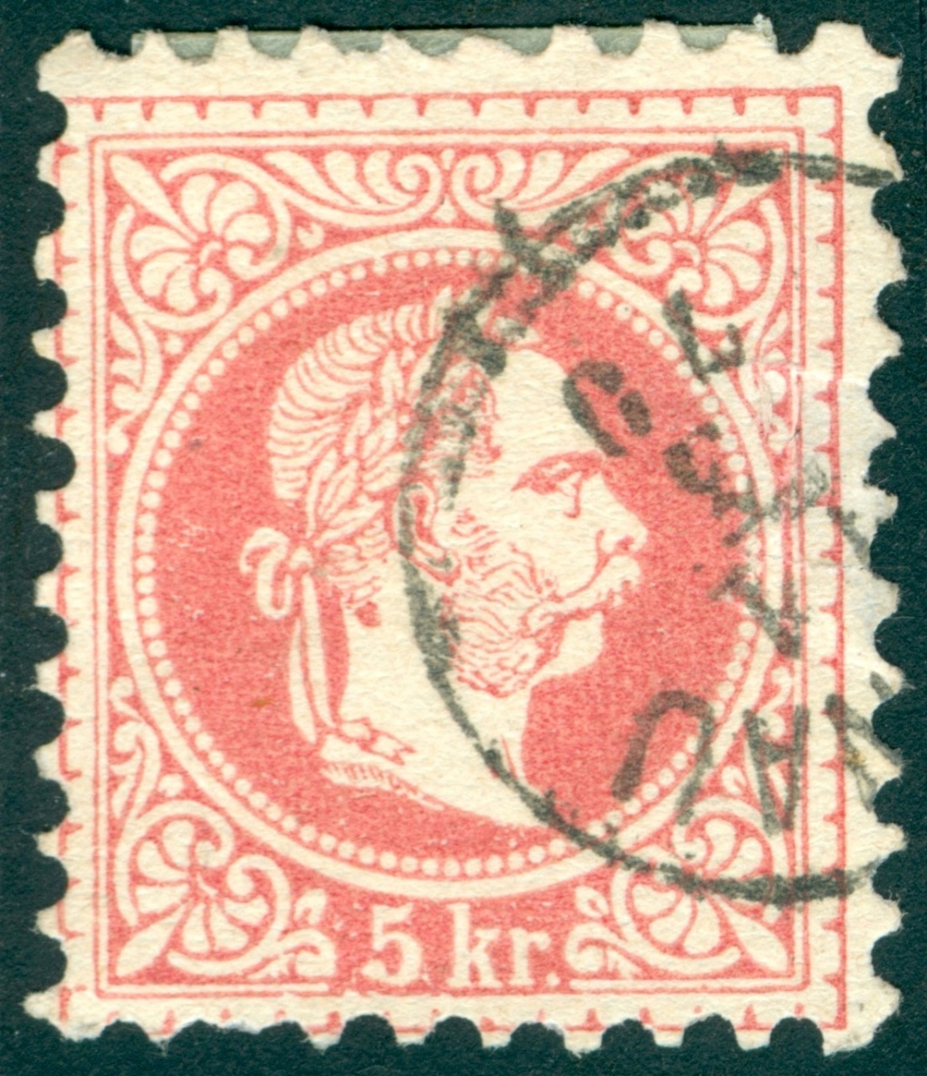 ungarn - Freimarken-Ausgabe 1867 : Kopfbildnis Kaiser Franz Joseph I - Seite 22 5_kr_t11