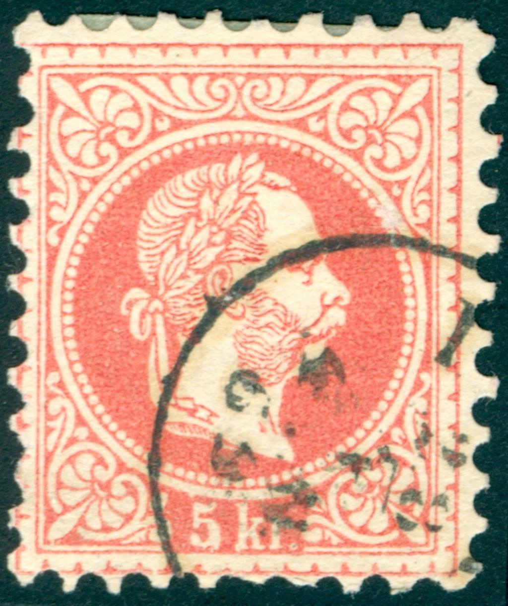 ungarn - Freimarken-Ausgabe 1867 : Kopfbildnis Kaiser Franz Joseph I - Seite 22 5_kr_t12