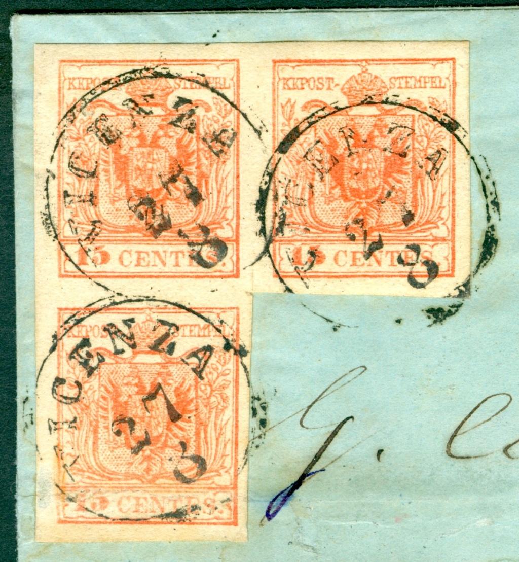 Briefmarken - Lombardei - Venetien 1850 - 1858 - Seite 5 Austri14