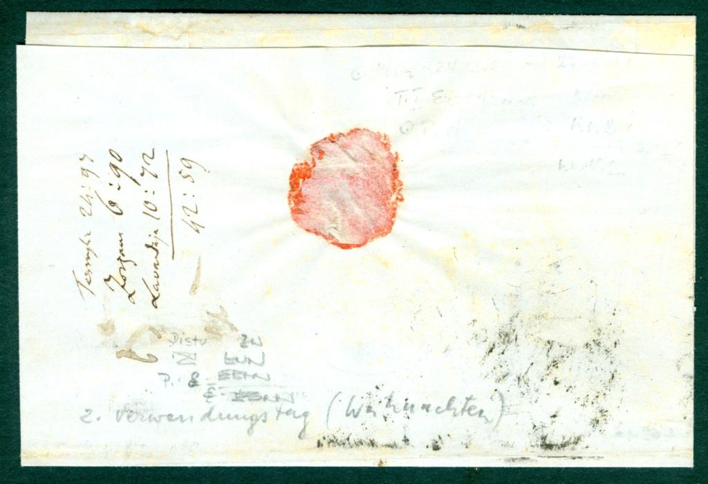 Briefmarken - Lombardei - Venetien 1850 - 1858 - Seite 5 Austri16