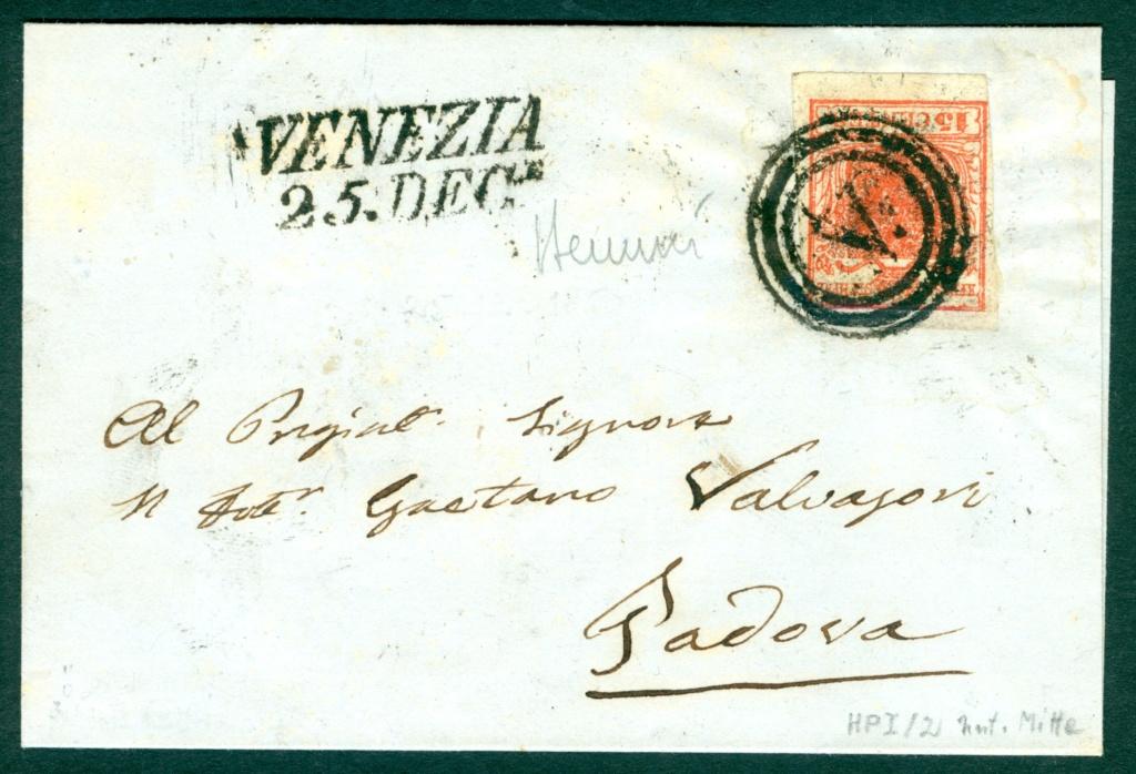 Briefmarken - Lombardei - Venetien 1850 - 1858 - Seite 5 Austri17
