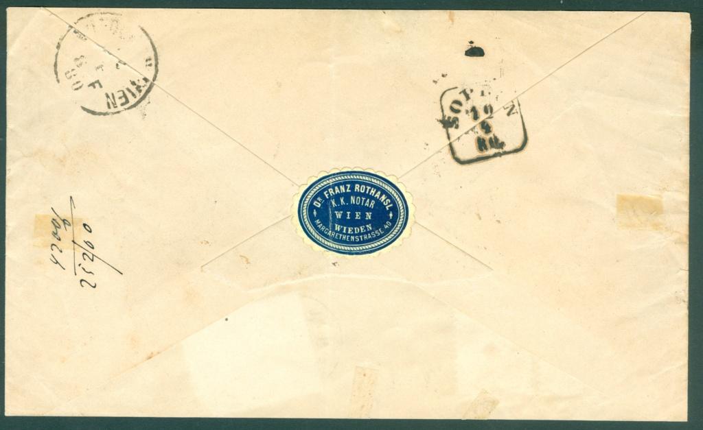 Freimarken-Ausgabe 1867 : Kopfbildnis Kaiser Franz Joseph I - Seite 21 Austri22