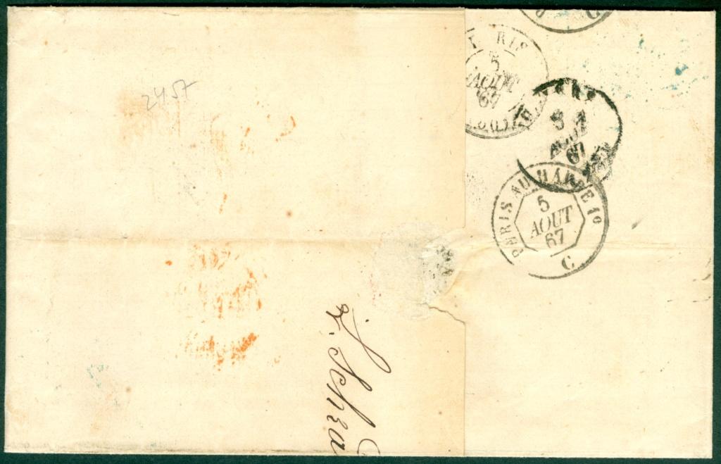 Freimarken-Ausgabe 1867 : Kopfbildnis Kaiser Franz Joseph I - Seite 21 Austri25