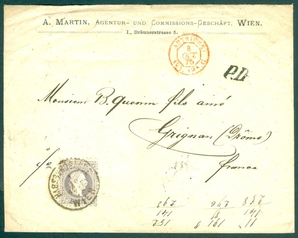 Freimarken-Ausgabe 1867 : Kopfbildnis Kaiser Franz Joseph I - Seite 21 Austri28