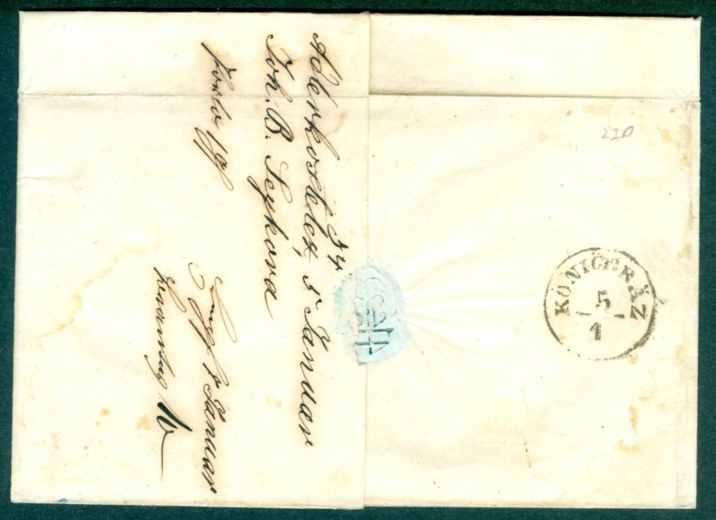 Die erste Österreichische Ausgabe 1850 - Seite 25 Brief_11