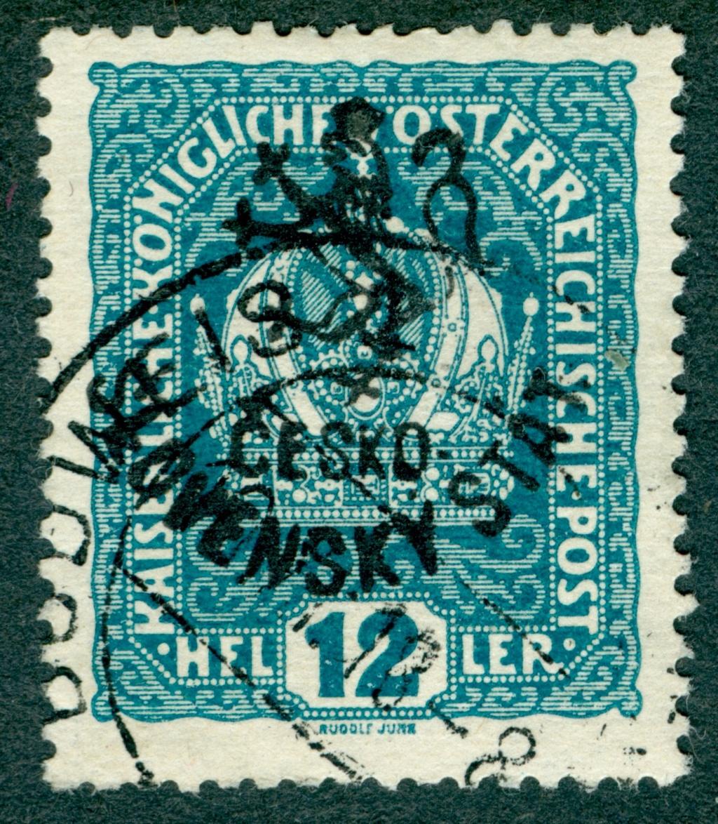 Die Freimarkenausgabe 1916 Budwei10
