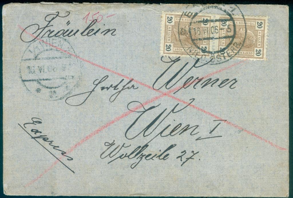 Die Freimarkenausgabe 1904 & 1905 Expres11