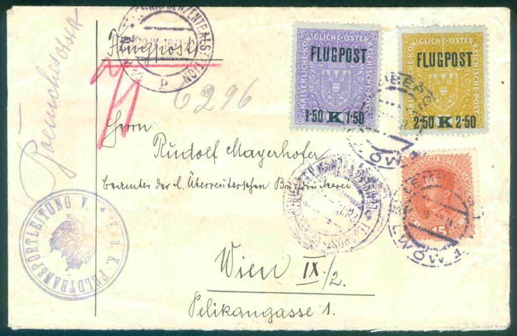 Österreich-Ungarischer Militär-Flugpost Flugpo11