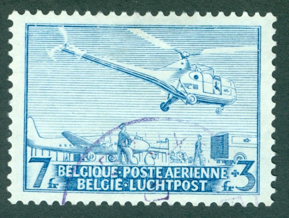 Sonderpostbeförderung mit Hubschrauber Helipo10