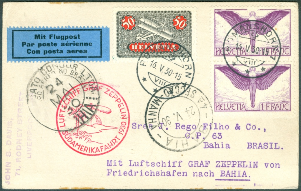 Südamerikafahrt 1930, Post nach (Salvador de) Bahia - Seite 2 Lz_12713