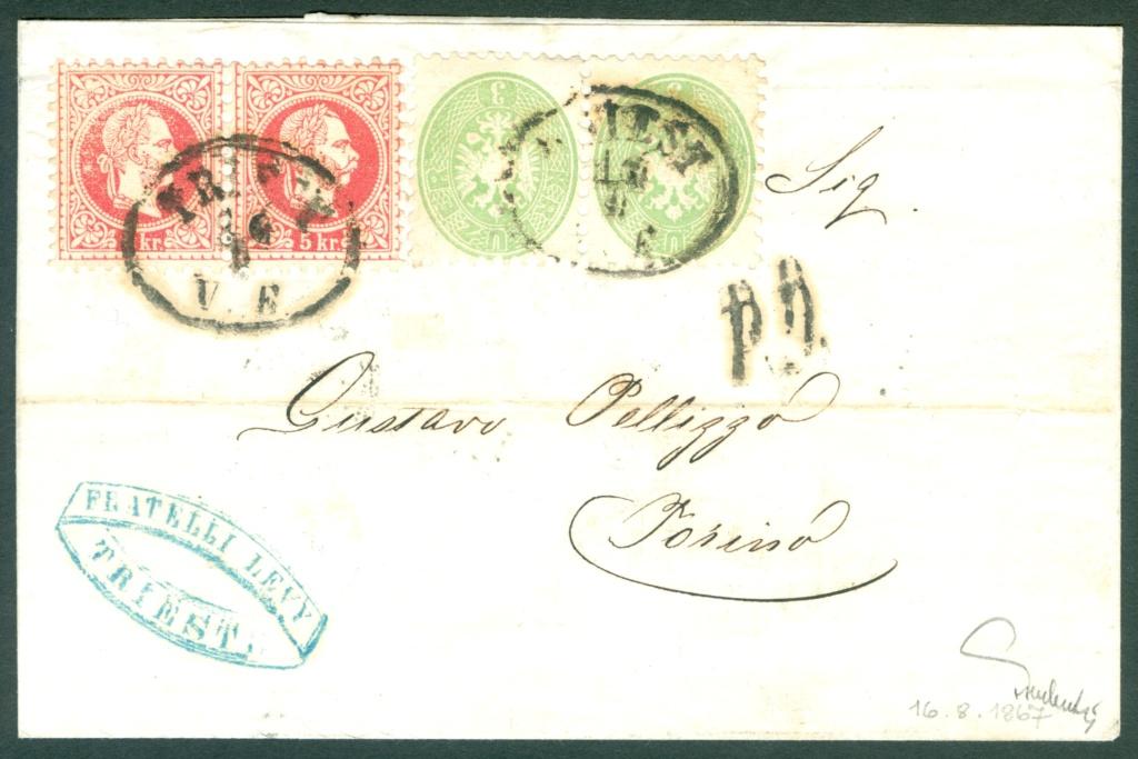 Nachtrag - Freimarken-Ausgabe 1867 : Kopfbildnis Kaiser Franz Joseph I - Seite 23 Mischf11