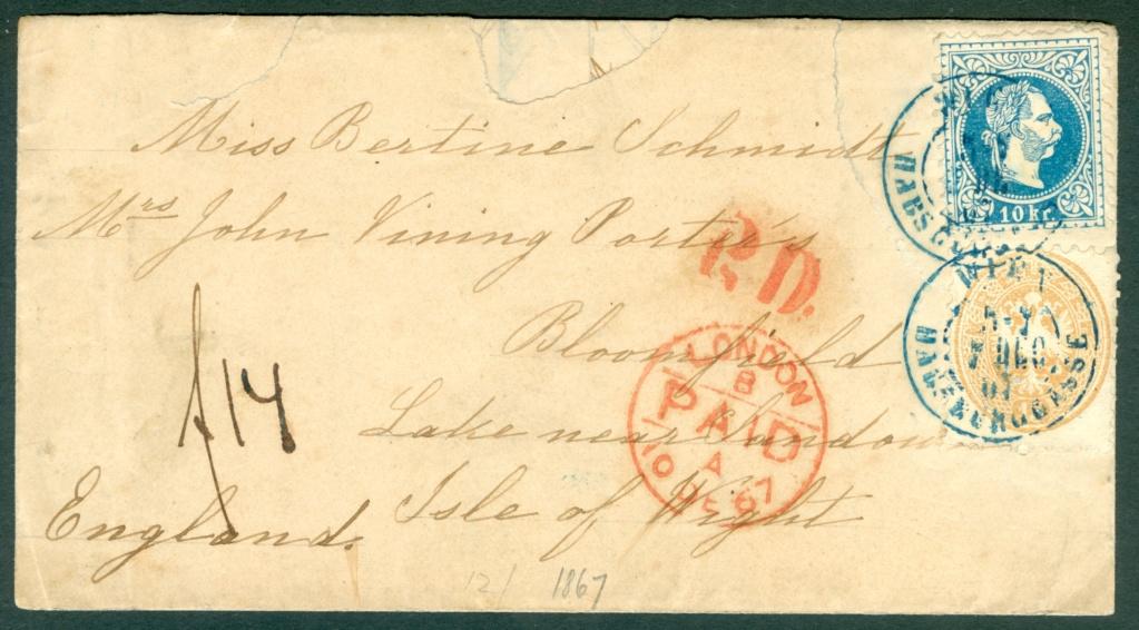 Nachtrag - Freimarken-Ausgabe 1867 : Kopfbildnis Kaiser Franz Joseph I - Seite 23 Mischf13