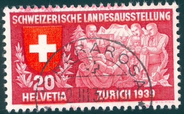 SBK 220 (Mi 336) Geistiges Leben, deutsch Randfl10