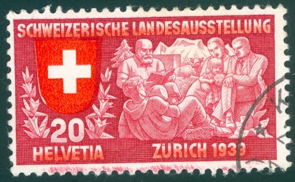 SBK 220 (Mi 336) Geistiges Leben, deutsch Randfl11