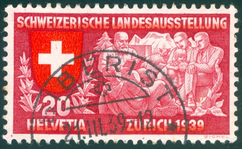 SBK 220 (Mi 336) Geistiges Leben, deutsch Roter_10